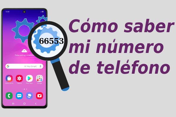 buscar mi número de teléfono