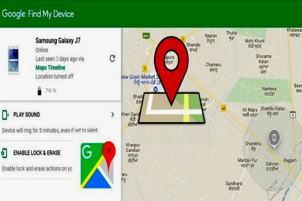localizar mi movil gps find my device