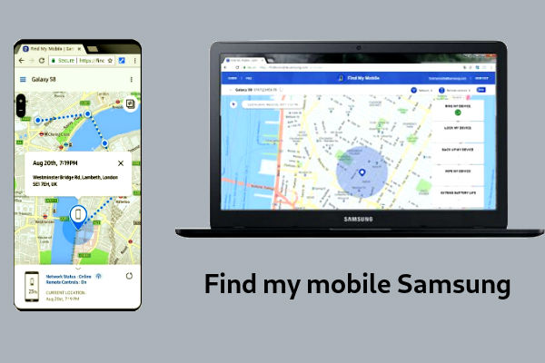 find mi mobile samsung apagado