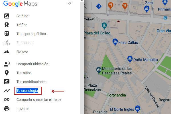 localizar movil apagado con historial de ubicaciones