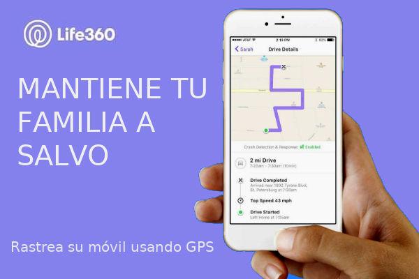 localizar mi móvil gps life360