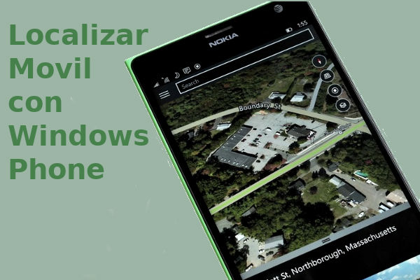 localizar móvil con Windows Phone